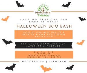 Nurture Pediatrics Halloween
