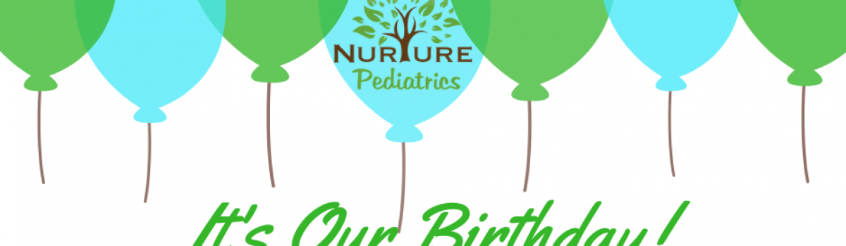 Nurture Pediatrics Second Birthday Party!